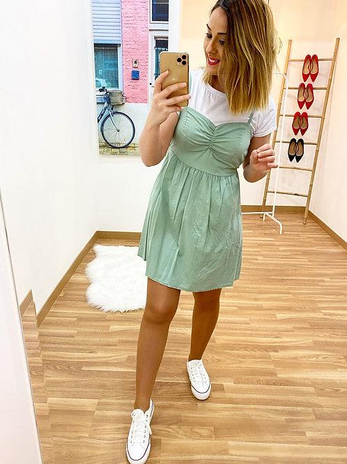 Vestido Amanda verde