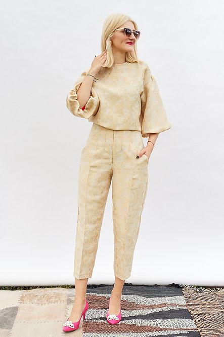 | DIEGA |  finesse blouse | subtle gold