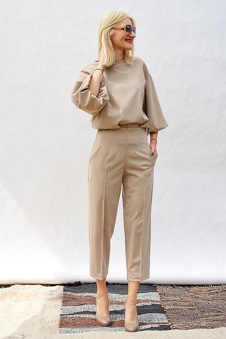 | DIEGA |  finesse blouse | almond beige