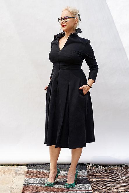 | FREYA | quintessential dress | business black