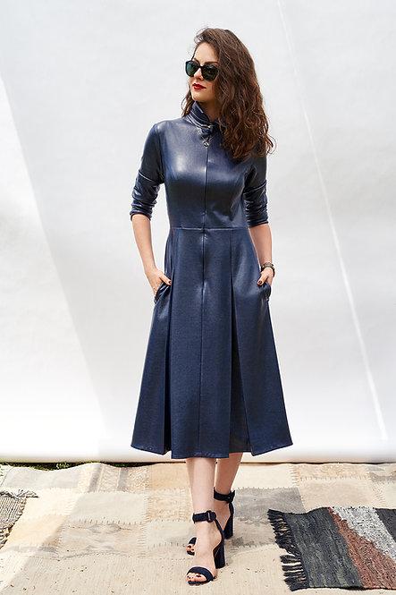 | FREYA | quintessential dress | cold presidential blue