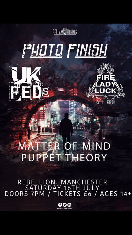 Rebellion Manchester. July 15th 2016.