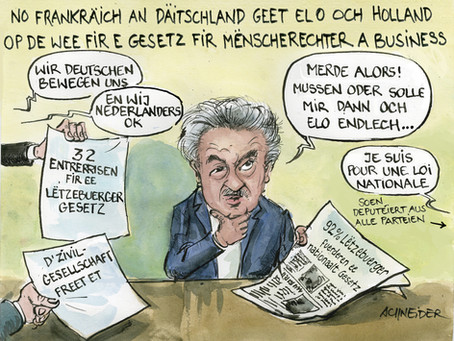 C'est maintenant au tour du Luxembourg d'agir !