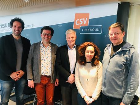 Rencontre entre CSV et l'Initiative pour un devoir de vigilance
