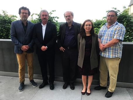 Entrevue de l'Initiative pour un devoir de vigilance avec le Ministre Jean Asselborn