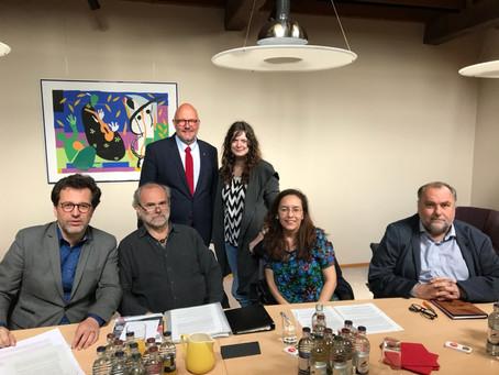 Devoir de vigilance: l'Initiative rencontre des représentants du parti LSAP