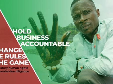Votre avis sur la responsabilité des entreprises et les droits humains compte !