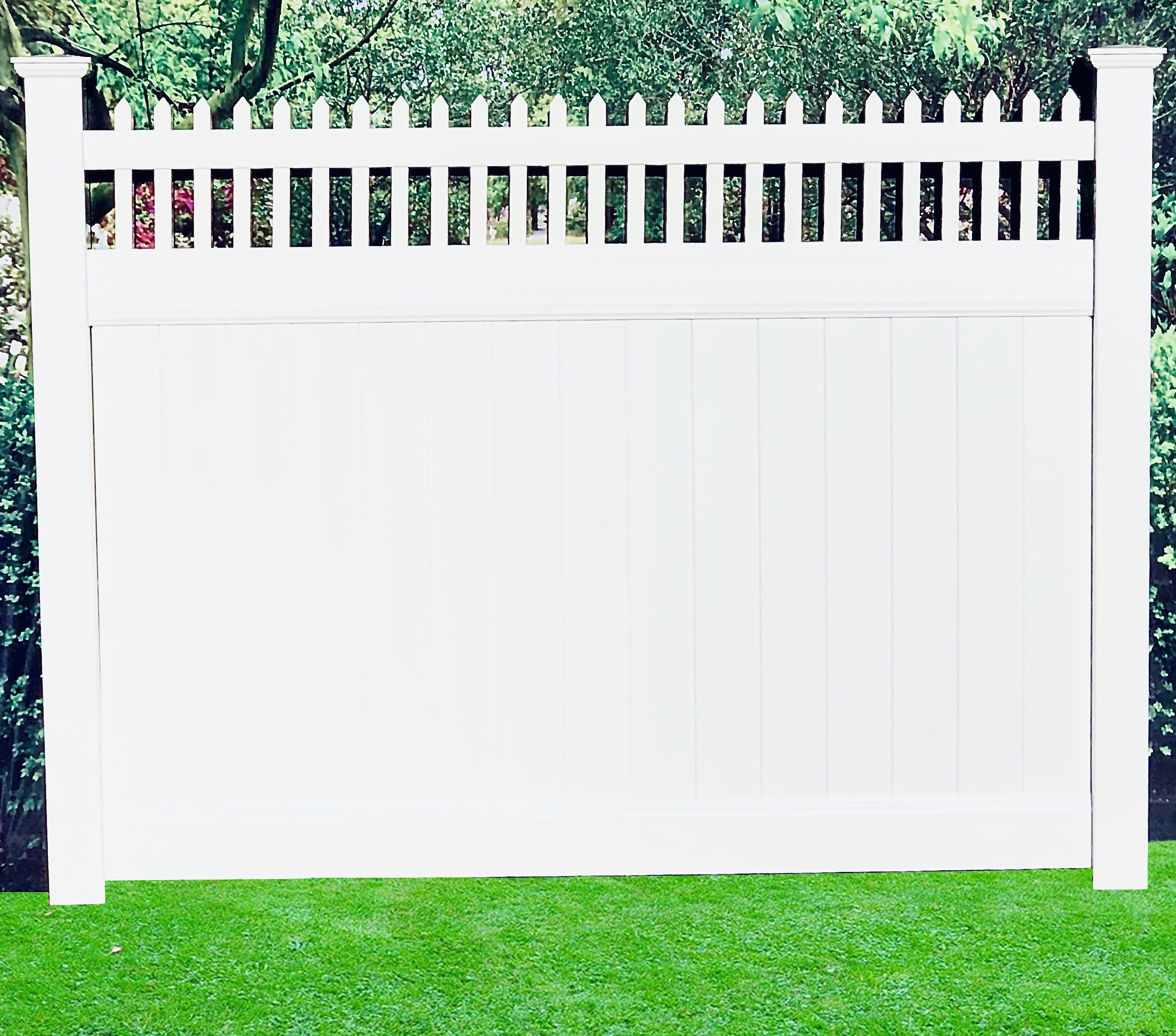 Privacy Fence: Paramus Open Top
