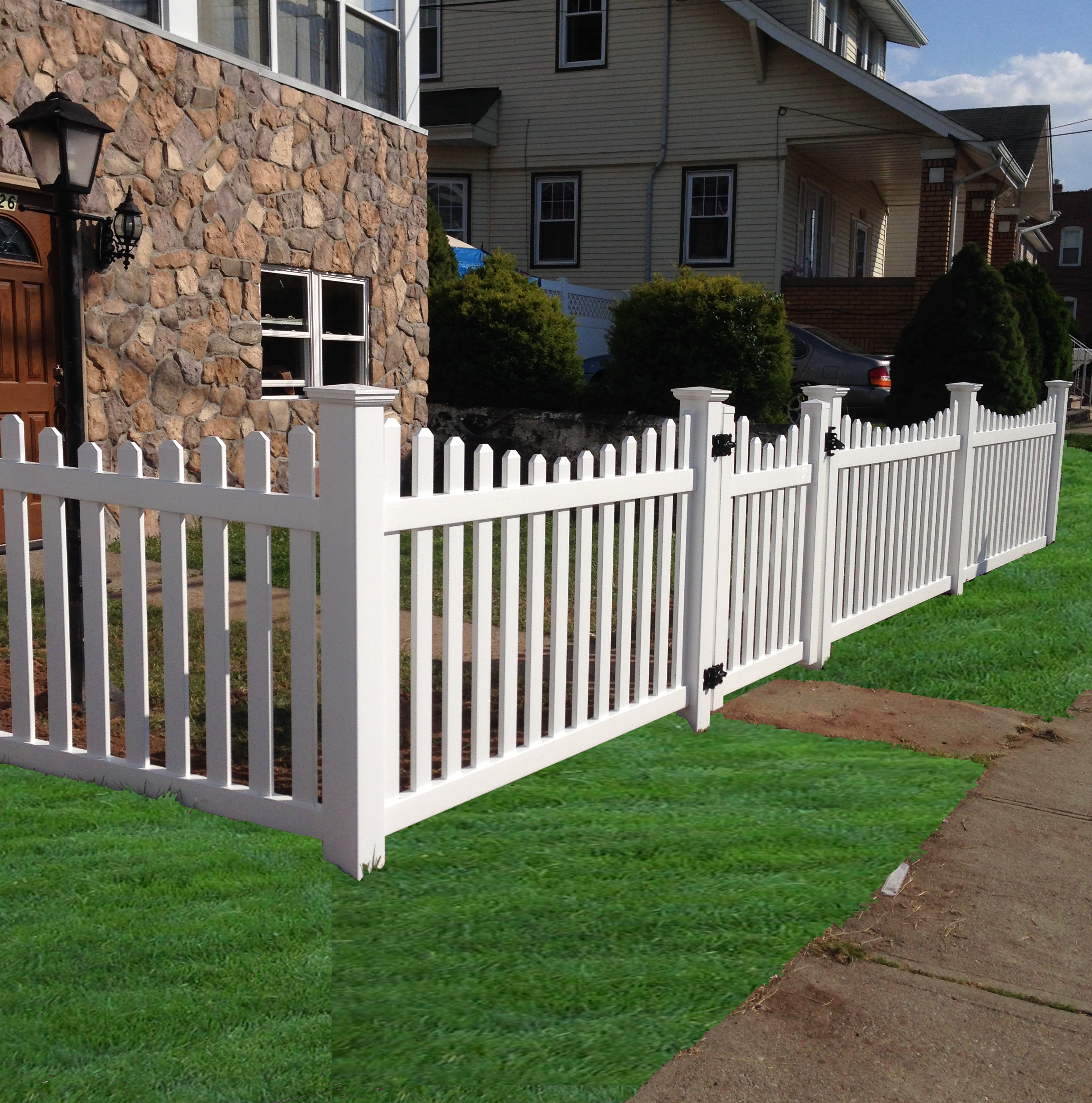 Picket Fence: Scalloped