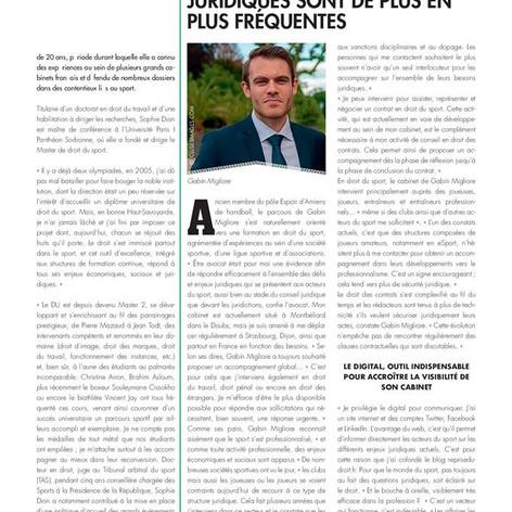 Interview de Maître Gabin MIGLIORE - Avocat en droit du sport