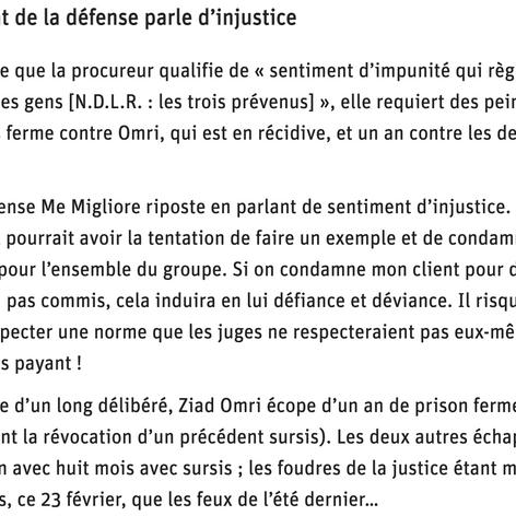 """""""Expédition punitive : vingt protagonistes mais seulement trois hommes à la barre"""""""