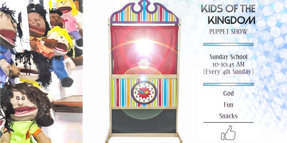 Kids of the Kingdom PUPPET SHOW