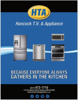 Hancock T.V. & Appliance Ad