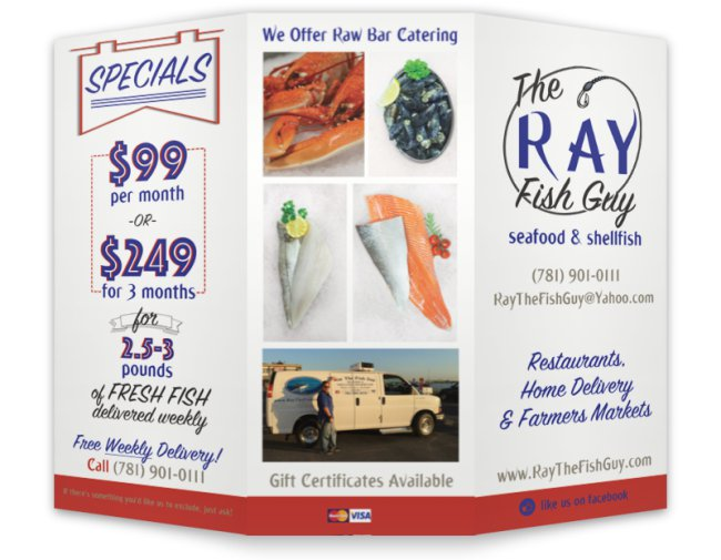 Ray The Fish Guy Brochure