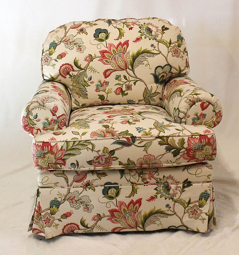Wesley Hall Floral Chair