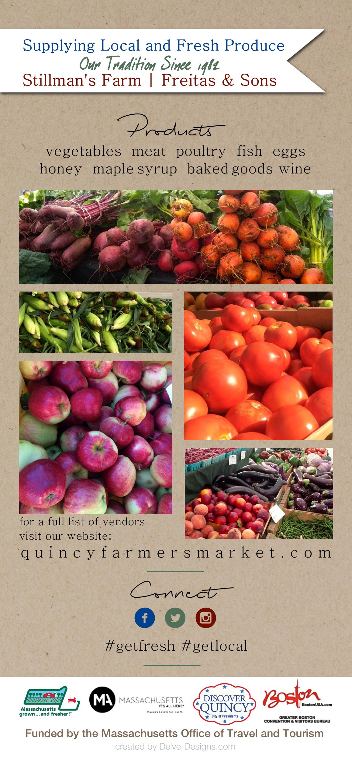 Quincy Famers Market Brochure