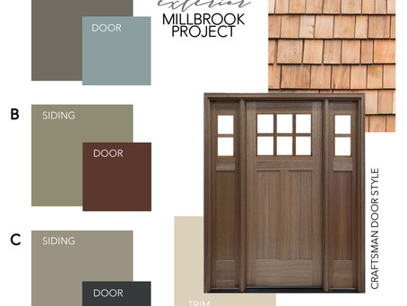 EXTERIOR OPTIONS | MILLBROOK