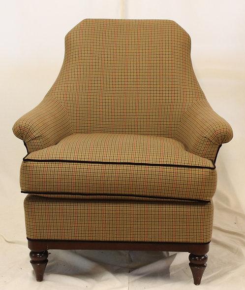 Herringbone Plaid Chair