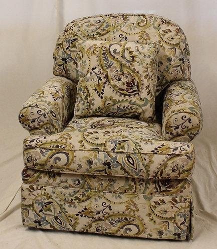 Green Paisley Chair