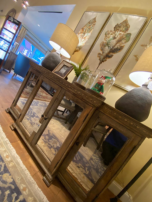 Antique Mirror Buffet