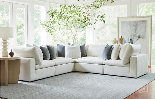 5 Piece Sectional - performance fabric