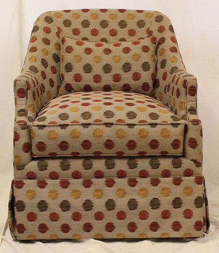 Polka Dot Accent Chair