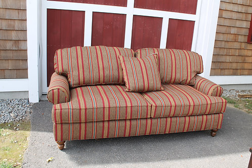 Highland House Striped Sofa