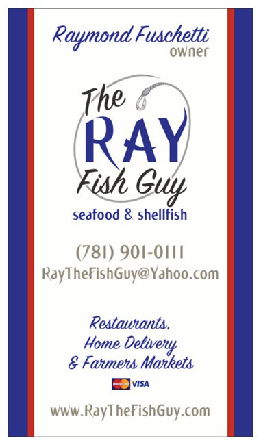 Ray The Fish Guy Business Card