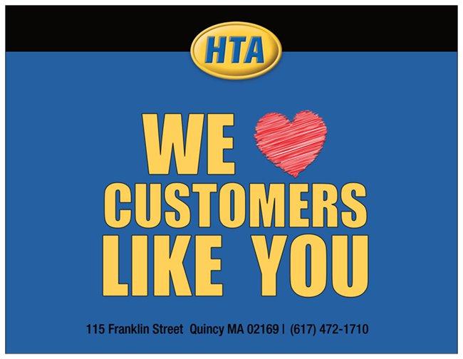 Hancock T.V. & Appliance Post Card