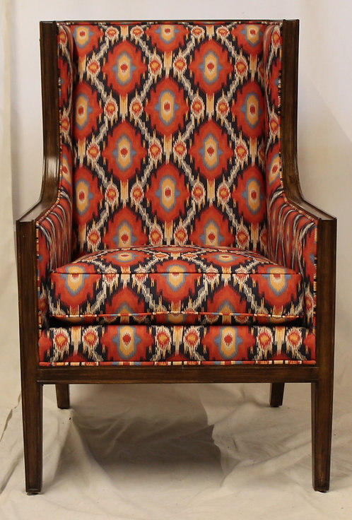 Wood Framed Accent Chair