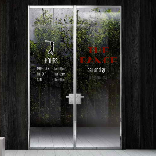 The Range Door Graphics