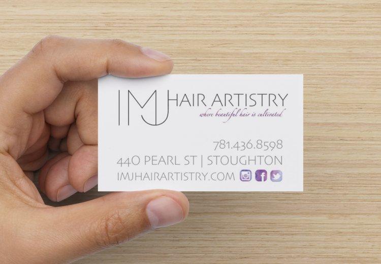 IMJ Hair Artistry Graphic Design