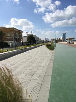 3D Wave Paver, Jumeirah Beach