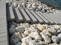 Bahrain pier, steps & sundeck