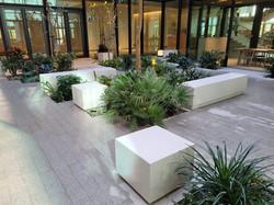 Hollow benches Sharjah Digital Library 2