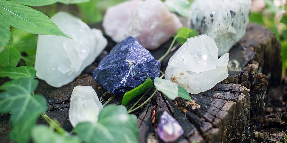 Crystals for Empowerment with Adrienne