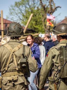 De Tweede Wereldoorlog terug in Het Gooi.