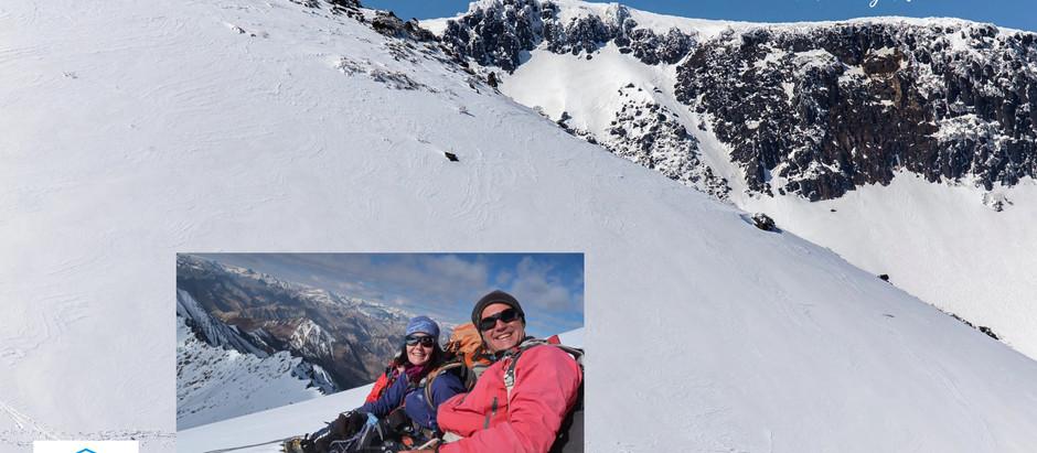 Mountaineering Moments #1 . . . Mandy Ramsden