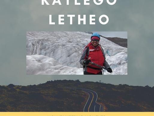 Mountaineering Moments #15 . . . Katlego Letheo