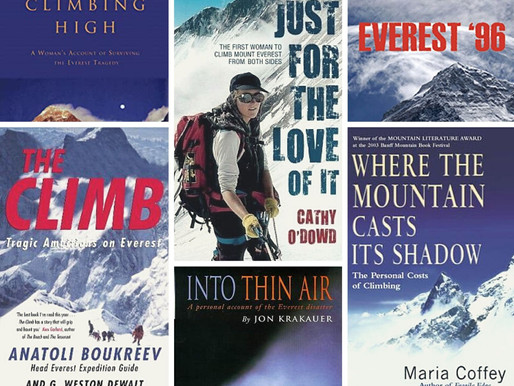 From my bookshelf: Everest 1996