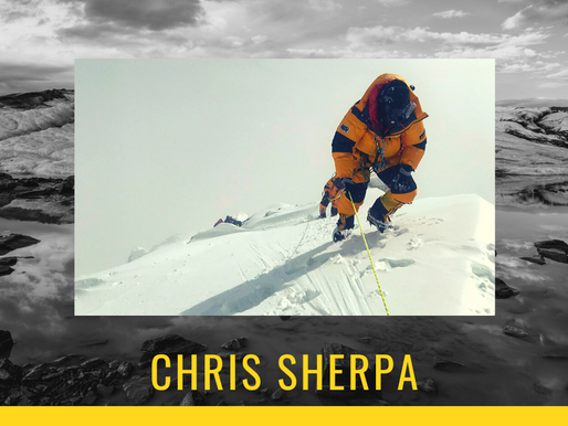Mountaineering Moments #12 . . . Chris Sherpa