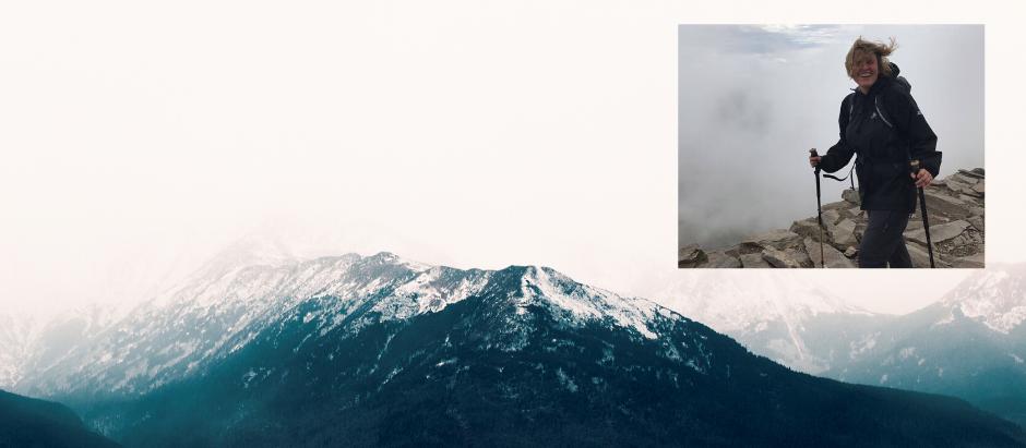 Mountaineering Moments #5 . . . Jessica Hepburn