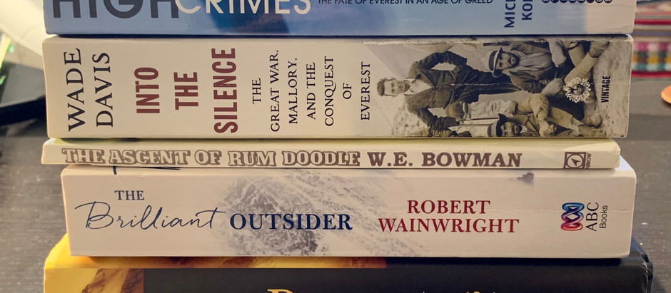 From my Bookshelf: Everest History - fact, fiction and future . . .