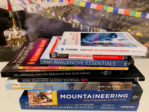 From my bookshelf: Mountaineering 101