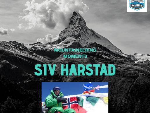 Mountaineering Moments - #2 . . . Siv Harstad