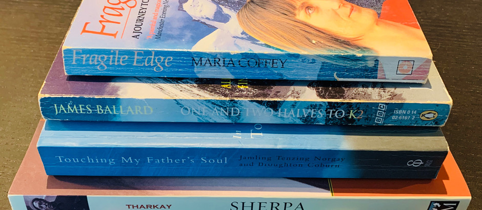 From my bookshelf: Sherpa's and Survivors