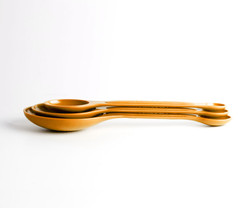 Orange Measuring Spoons