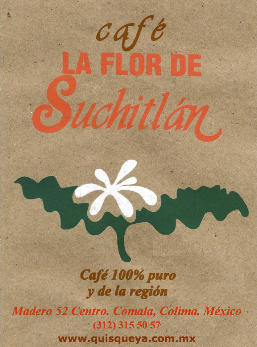 café La FLOR de Suchitlán