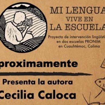 """Charla y presentación del libro """"Mi lengua vive en la escuela"""""""