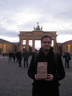 Desde la Puerta de Brandeburgo,